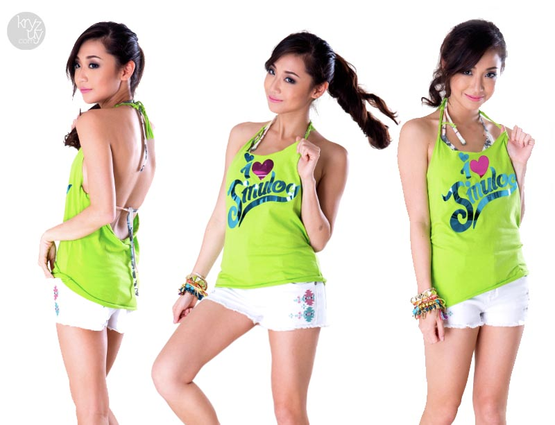 Cut And Style : How To: Cut and Style your Sinulog T-shirts! Thirstythought