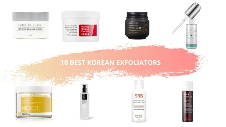10 Best Korean Exfoliators