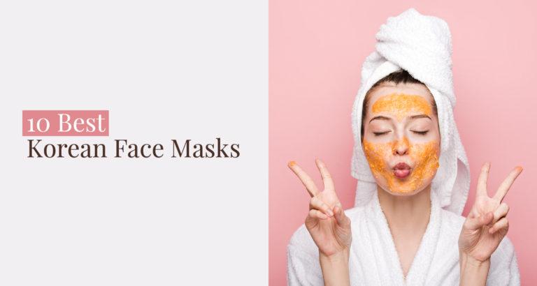 10 Best Korean Face Masks