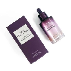 MISSHA-Time-Revolution-Night-Repair-Probio-Ampoule-packaging