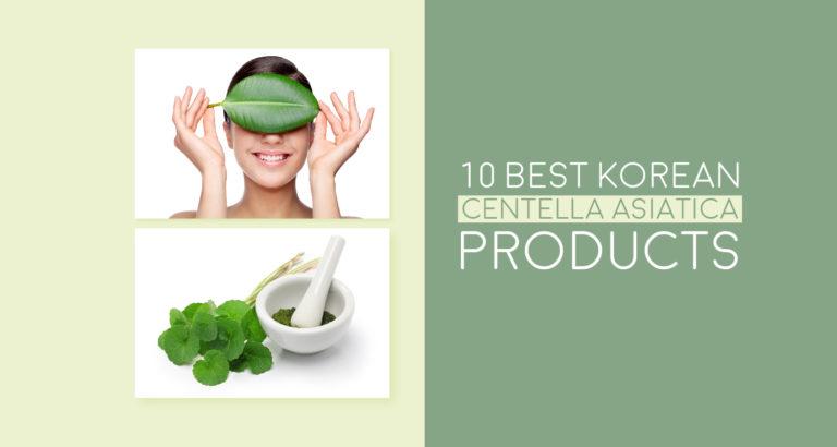 10 Best Korean Centella Asiatica Products