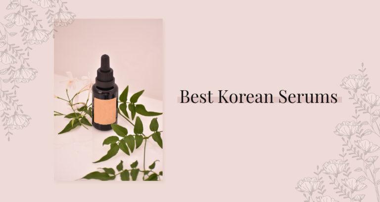 10 Best Korean Serums