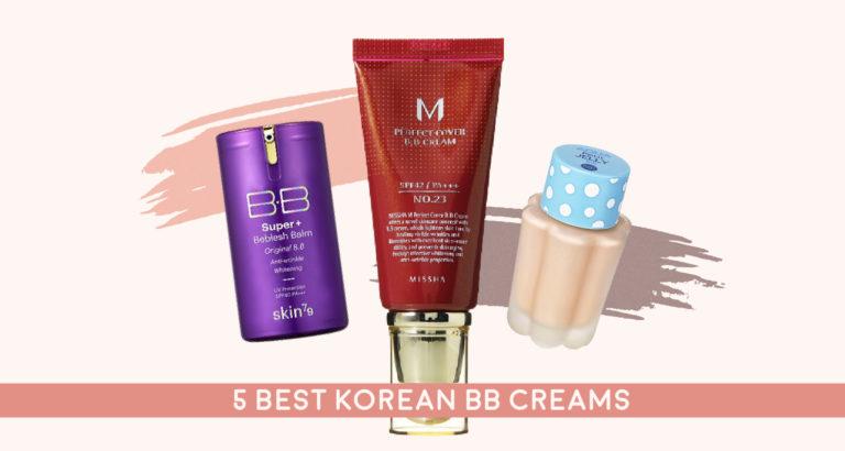 5 Best Korean BB Creams