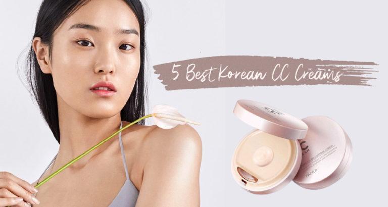 5 Best Korean CC Creams