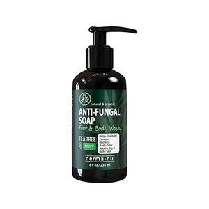 Derma-nu Antifungal Antibacterial Body Wash