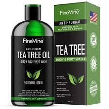 FineVine Antifungal Tea Tree Body Wash