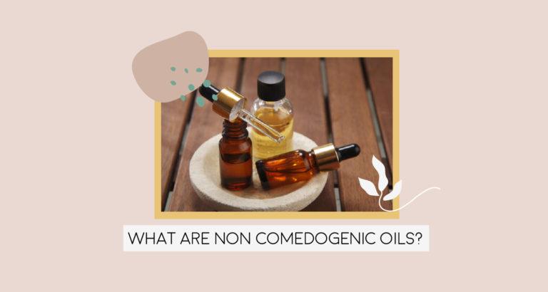 What are non-comedogenic oils