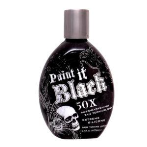 Millenium Tanning New Paint It Black Lotion