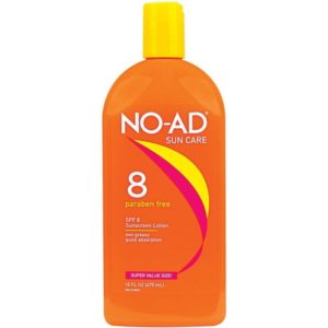 NO-AD Protective Tanning Lotion SPF 8