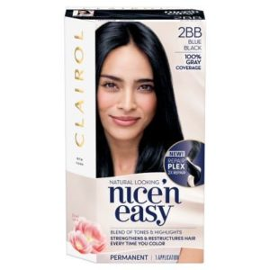 Clairol Nice'N Easy Hair Color 2BB Blue Black