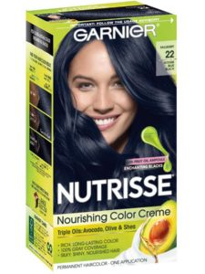Garnier Nutrisse Nourishing Color Crème Shade 22-Intense Blue Black