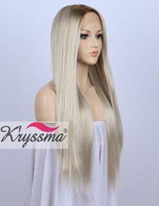 K'ryssma Fashion Ombre Blonde Glueless Lace Front Wig