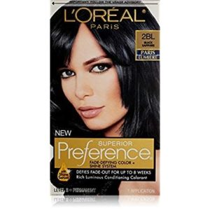 L'Oreal Paris Superior Preference Hair Color 2BL Black Sapphire
