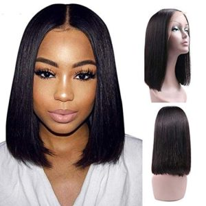 Perfume Lily 100% Real Human Hair Lace Front Wig
