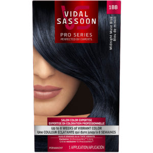 Vidal Sassoon London Luxe 1BB Midnight Muse Blue 1 Kit