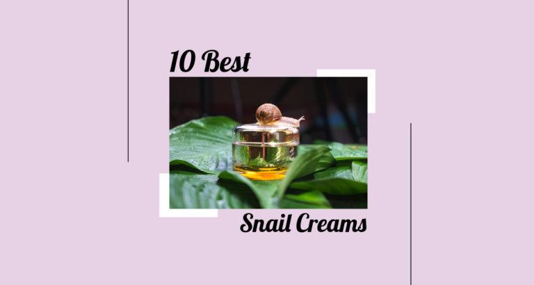 10 Best Snail Creams