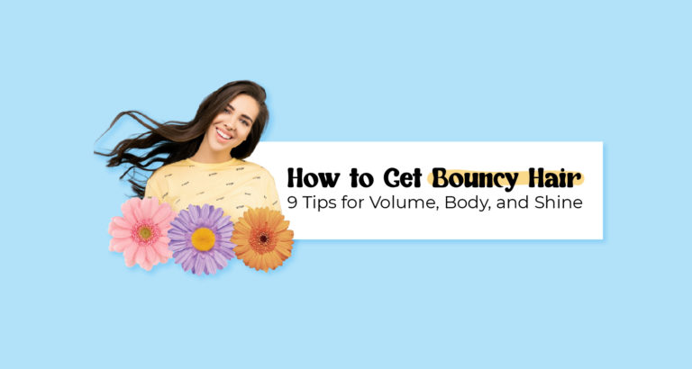 How to Get Bouncy Hair