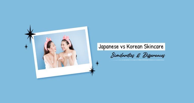 Japanese vs Korean Skincare