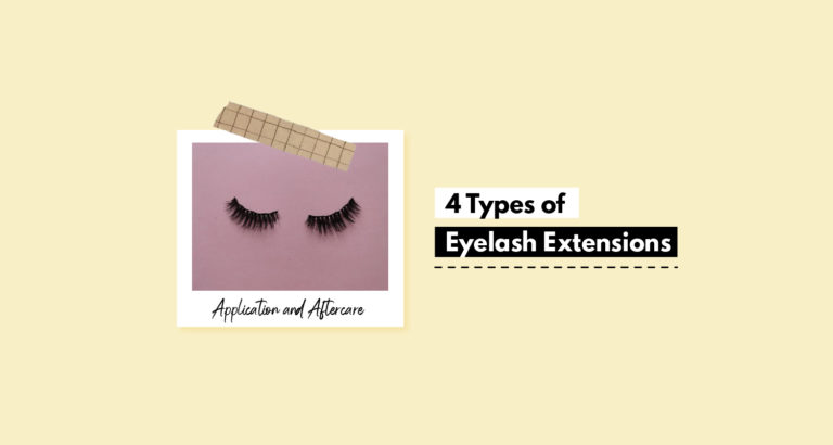 4 Types of Eyelash Extensions