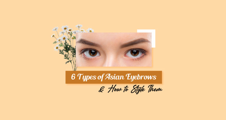 Types of Asian Eyebrows