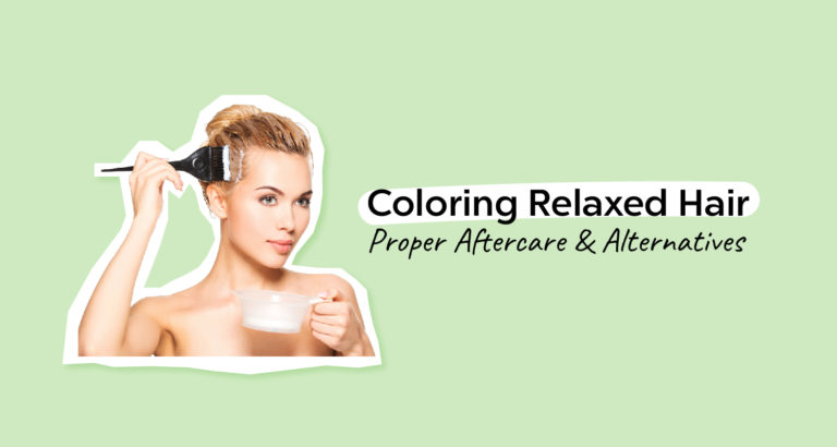 Coloring Relaxed Hair
