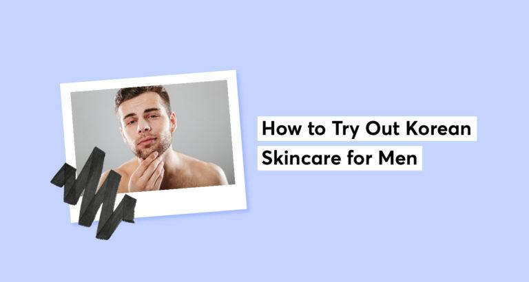 Korean Skincare for Men