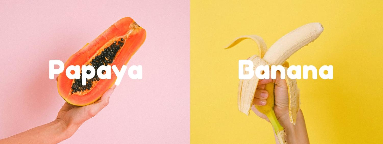 Papaya, Bananas, and Honey