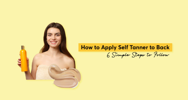How to Apply Self Tanner to Back