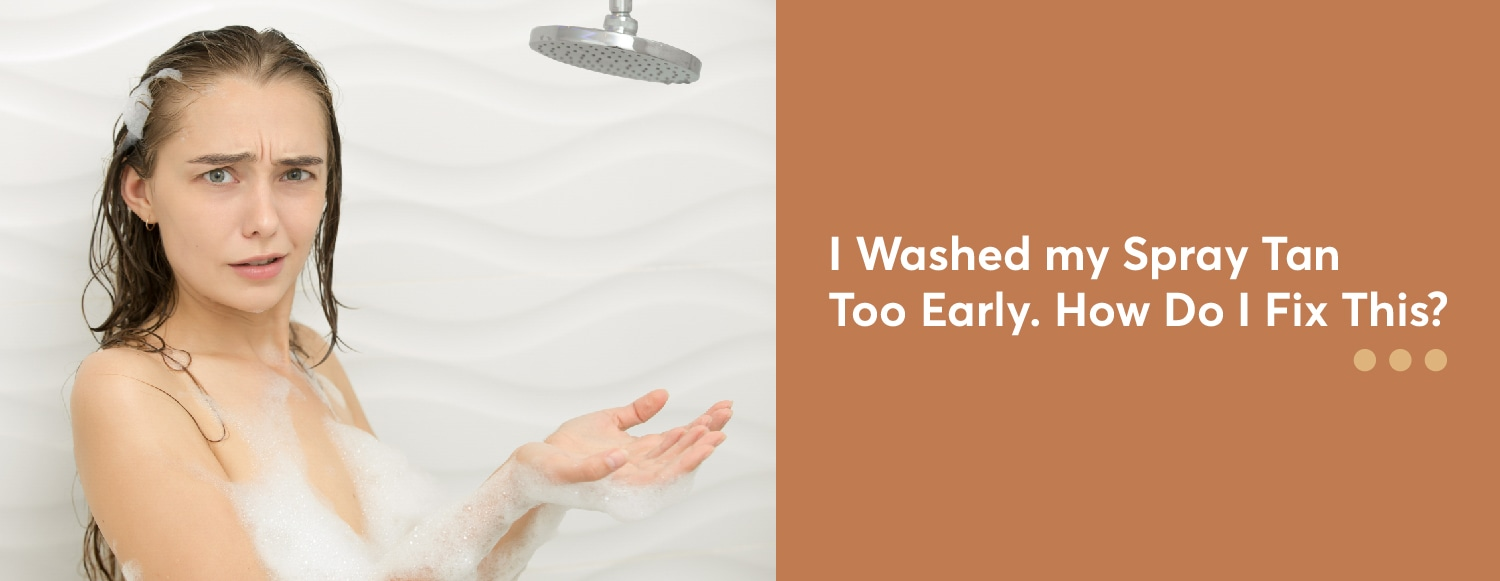 I Washed Too Early