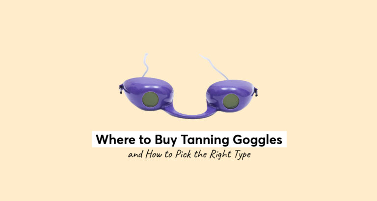Where to Buy Tanning Goggles