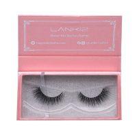 Lankiz 3D Handmade Mink Eyelashes Strip With Case